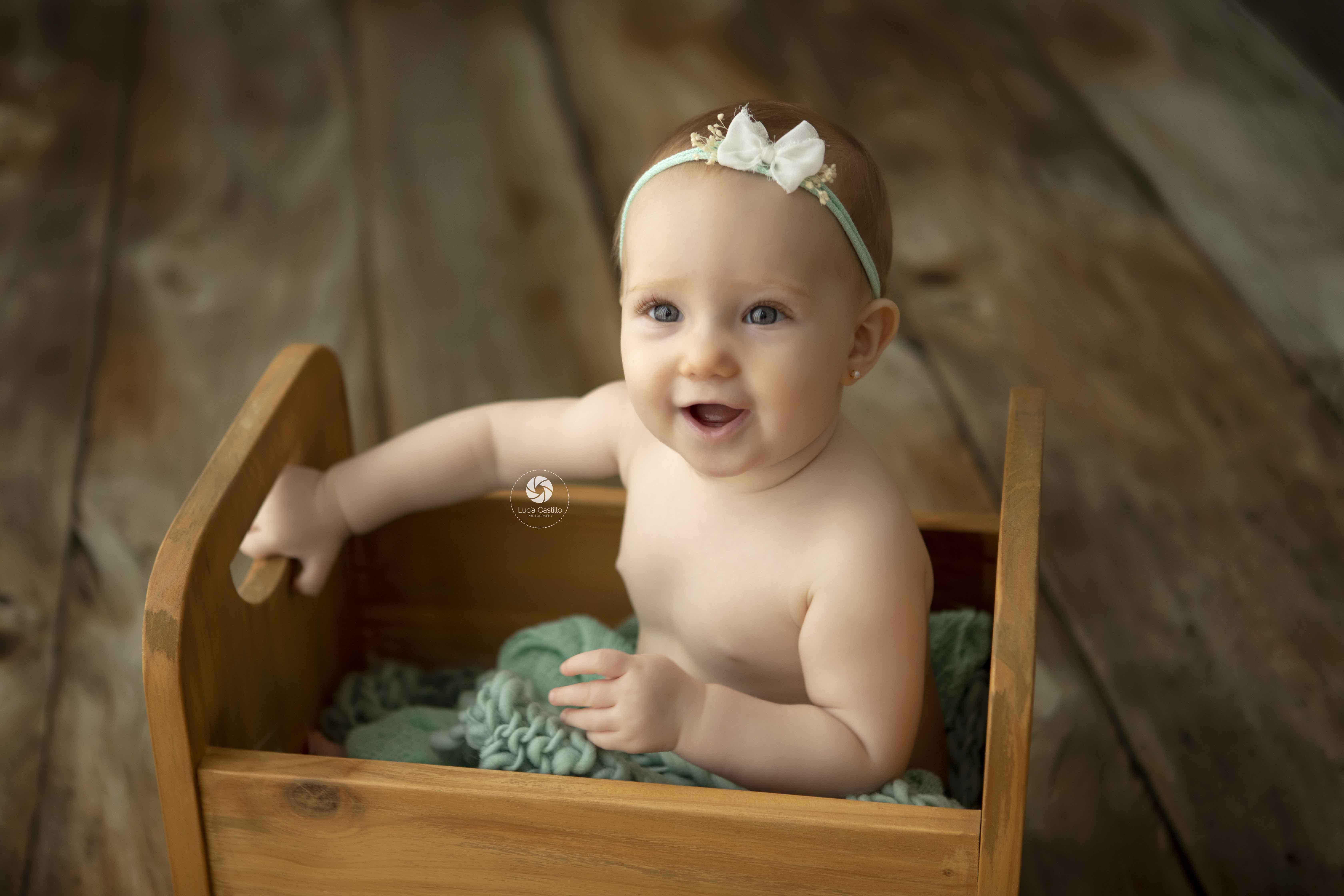 Fotografía bebé en Madrid