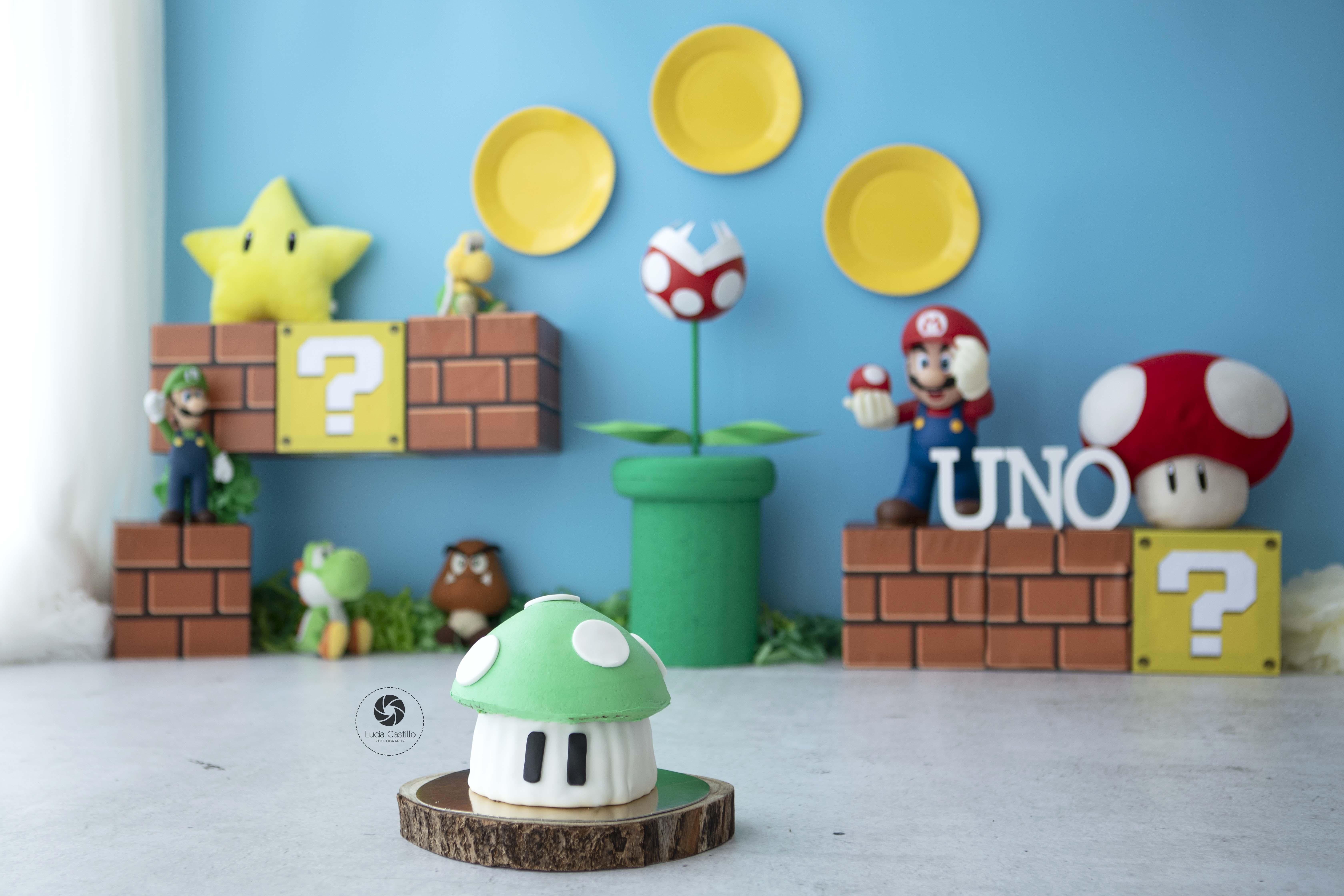 Smash Cake Mario Bros